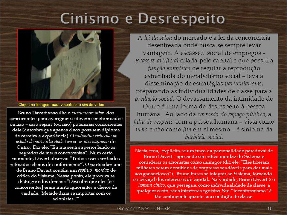 Cinismo e Desrespeito