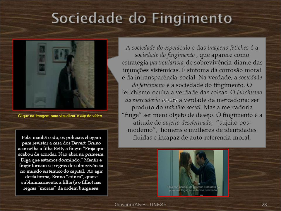 Sociedade do Fingimento