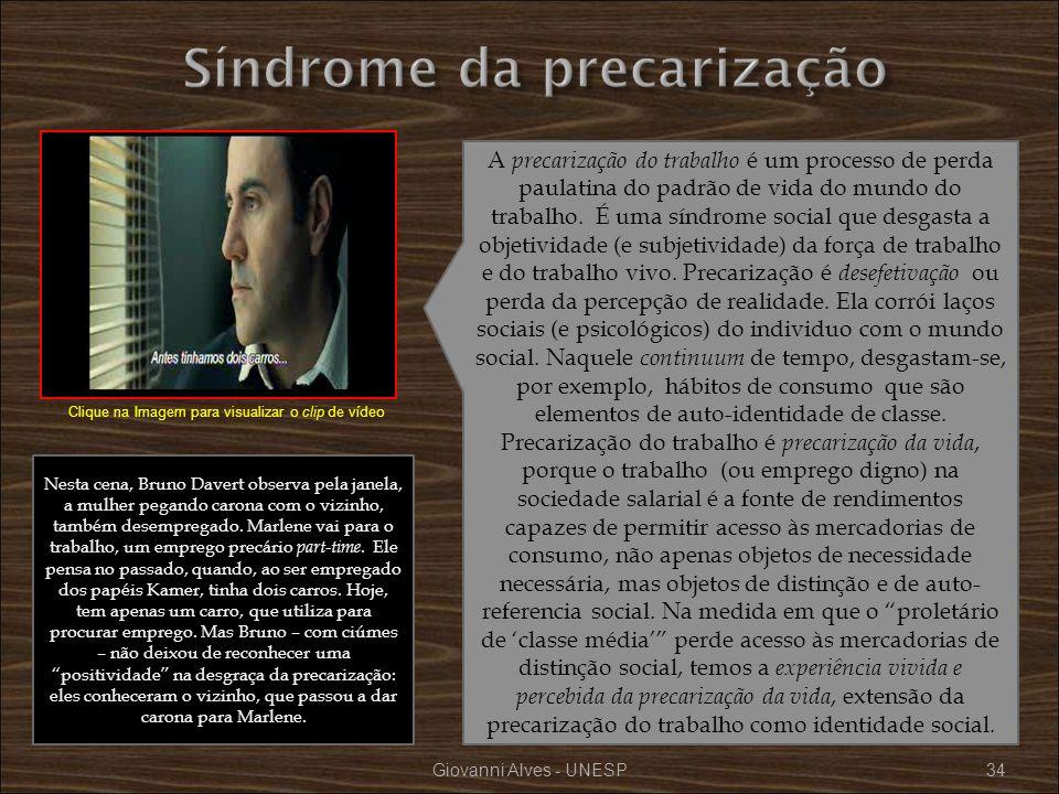 Síndrome da precarização