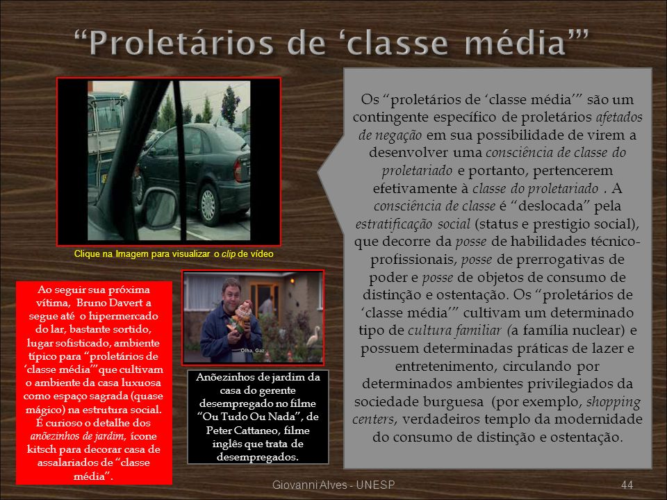 Proletários de 'classe média'