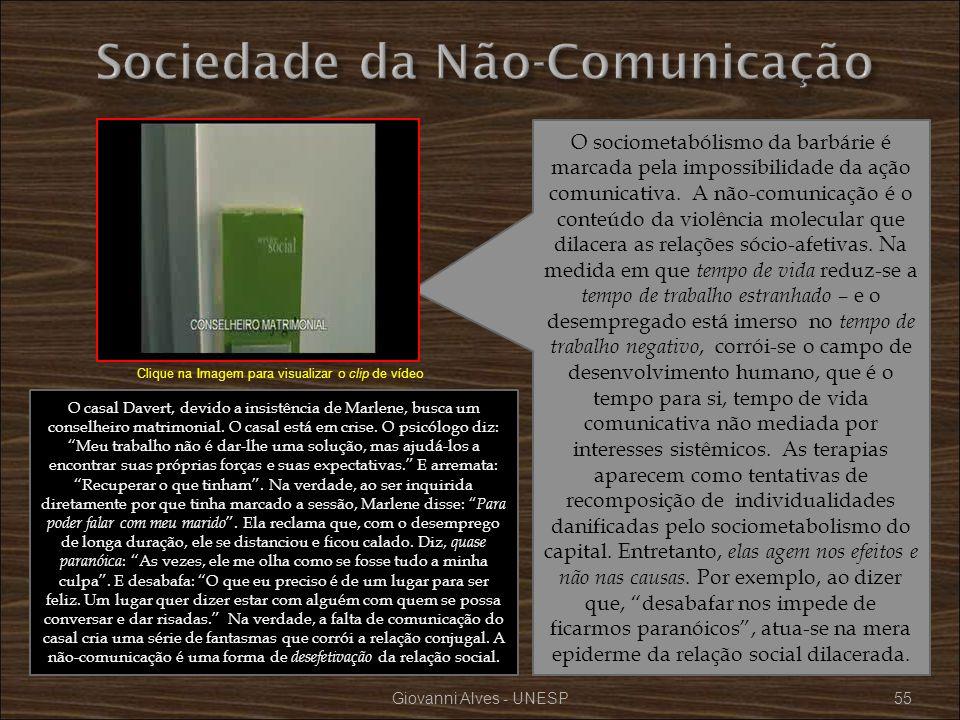 Sociedade da Não-Comunicação