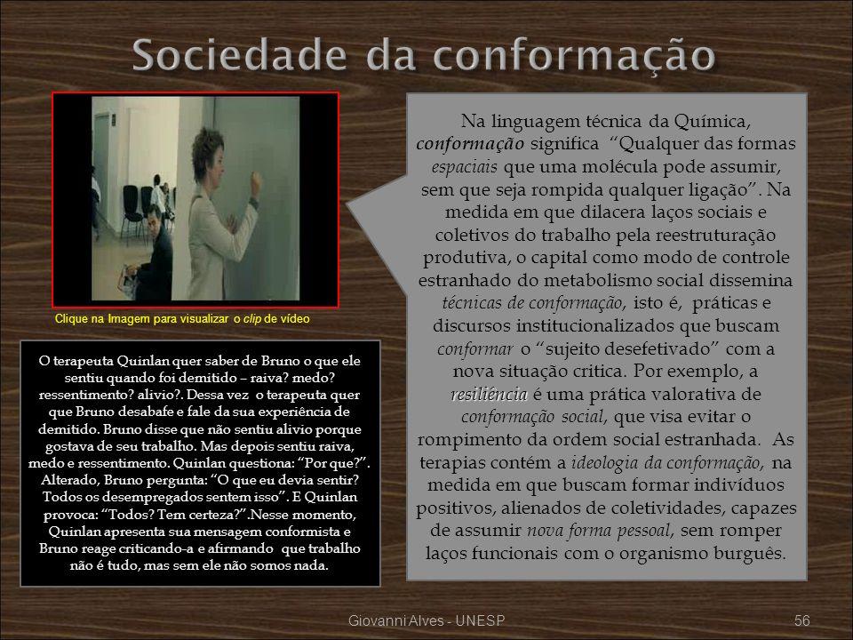 Sociedade da conformação