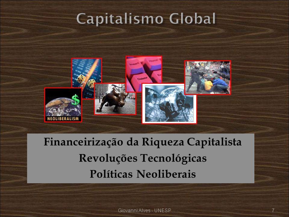 Capitalismo Global Financeirização da Riqueza Capitalista Revoluções Tecnológicas Políticas Neoliberais