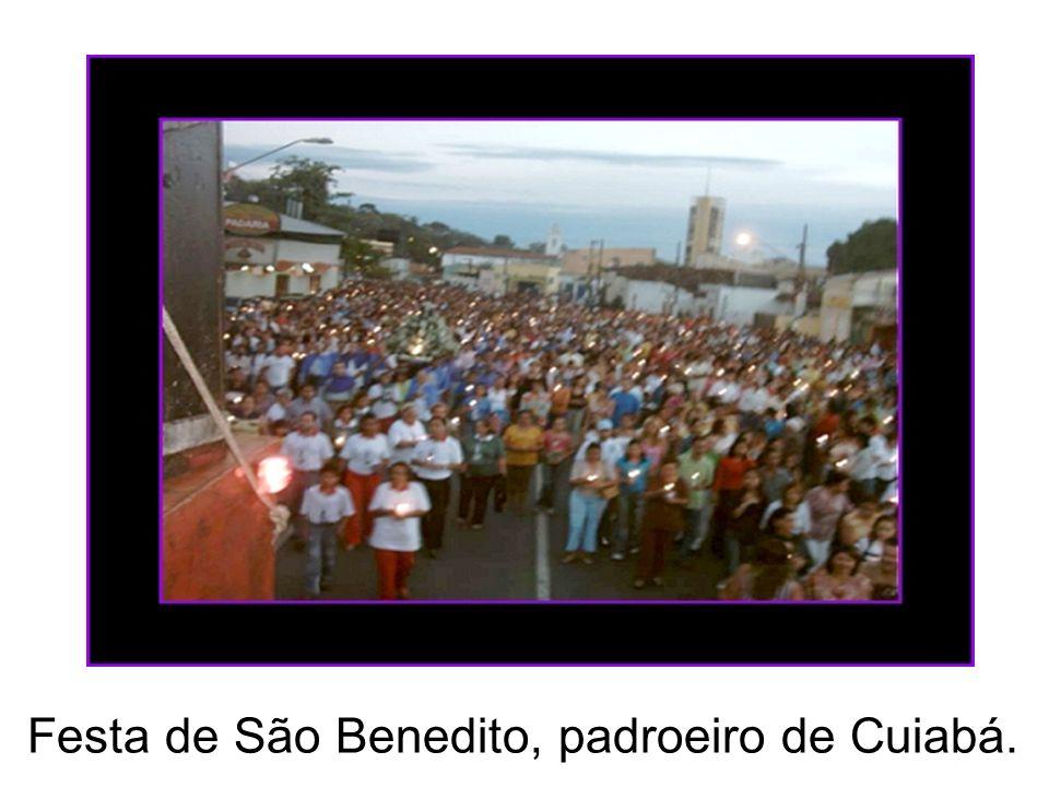 Festa de São Benedito, padroeiro de Cuiabá.