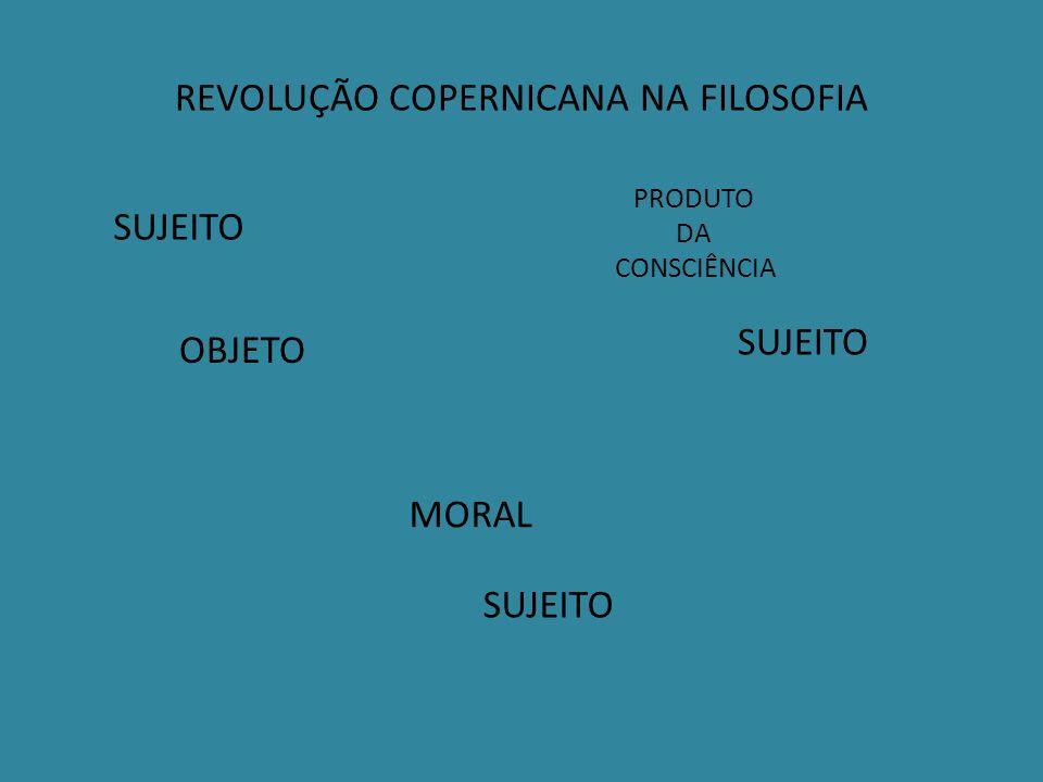 REVOLUÇÃO COPERNICANA NA FILOSOFIA