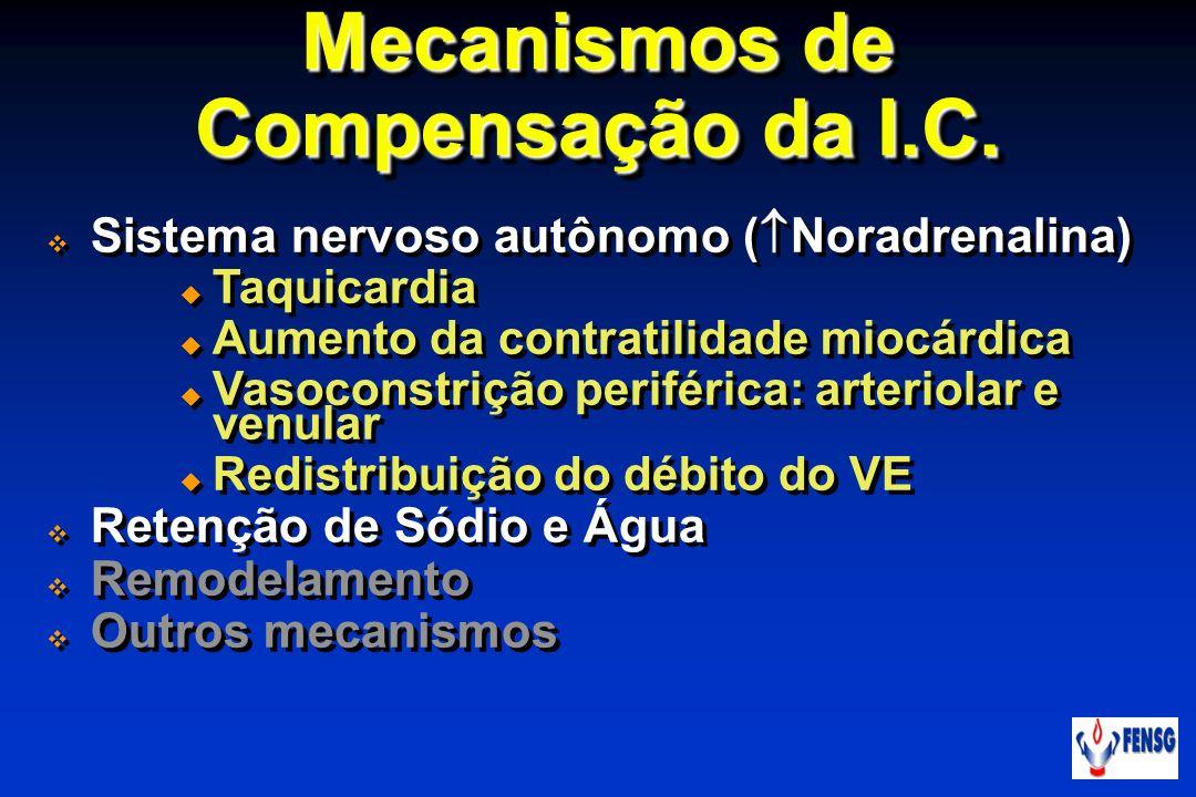 Mecanismos de Compensação da I.C.