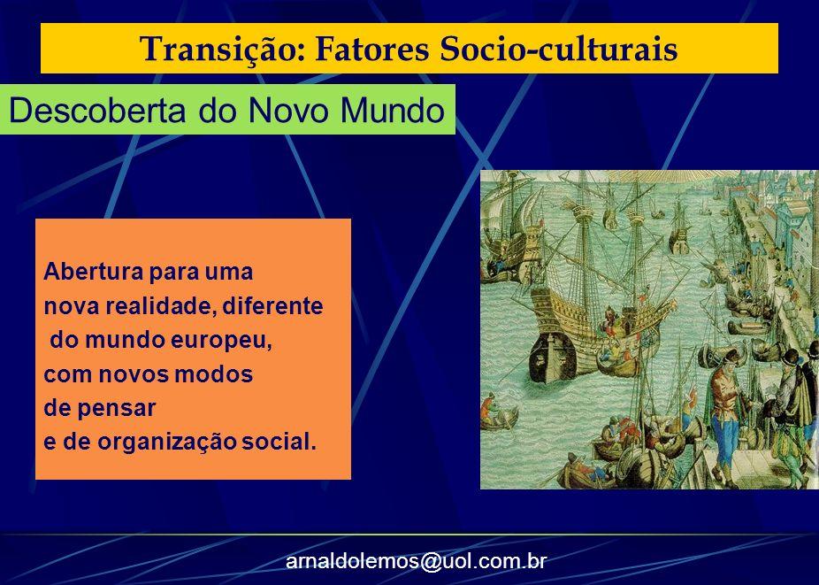 Transição: Fatores Socio-culturais