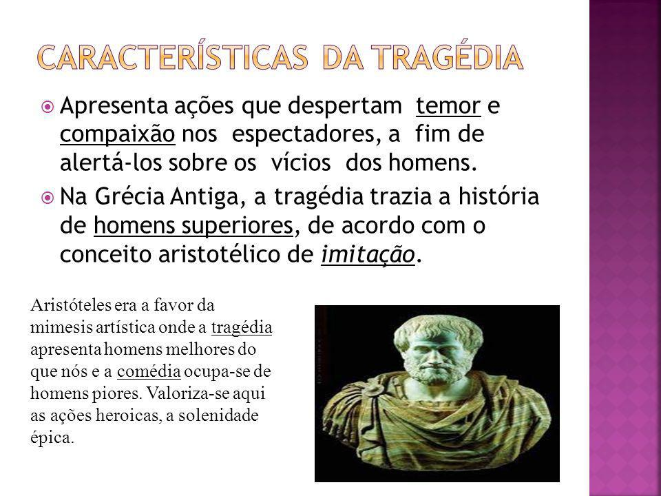Características da Tragédia
