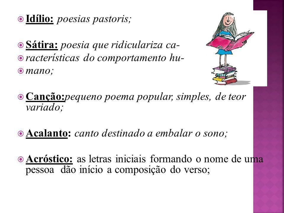 Idílio: poesias pastoris;
