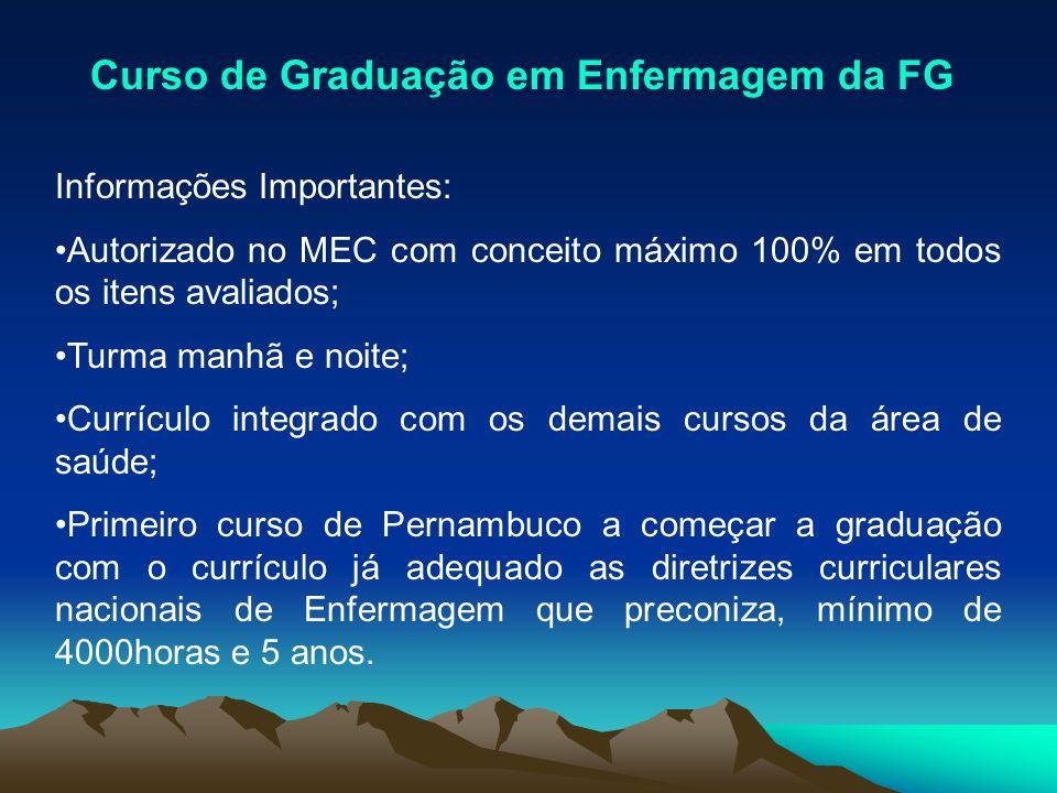 Curso de Graduação em Enfermagem da FG