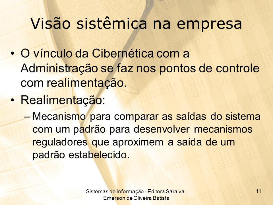 Visão sistêmica na empresa