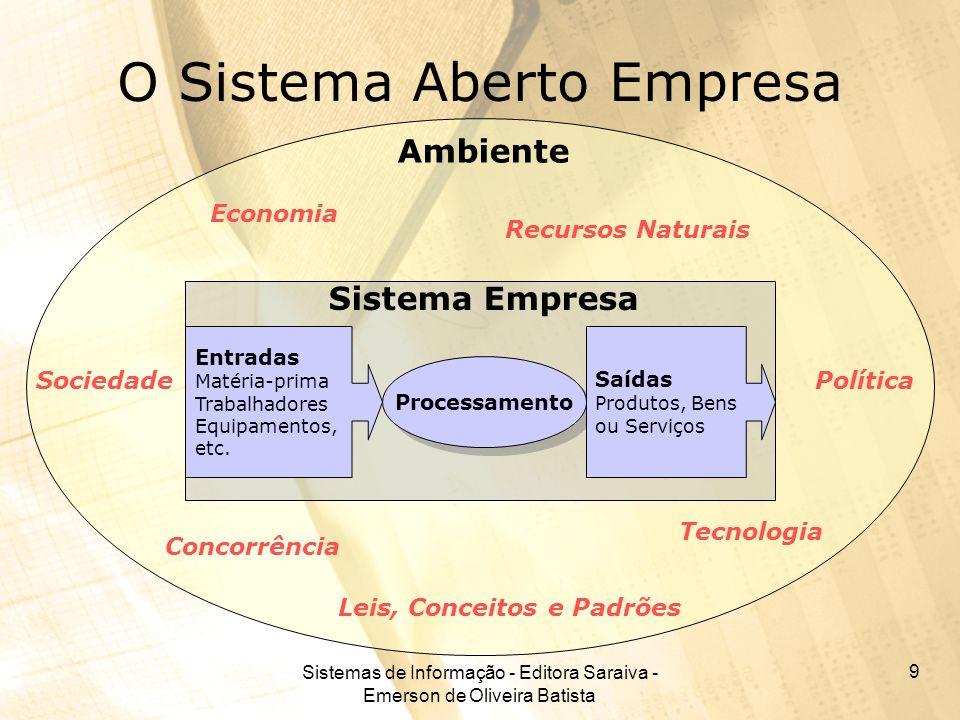 O Sistema Aberto Empresa