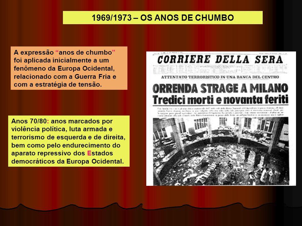 1969/1973 – OS ANOS DE CHUMBO