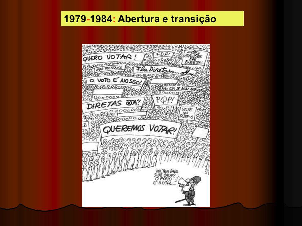 1979-1984: Abertura e transição