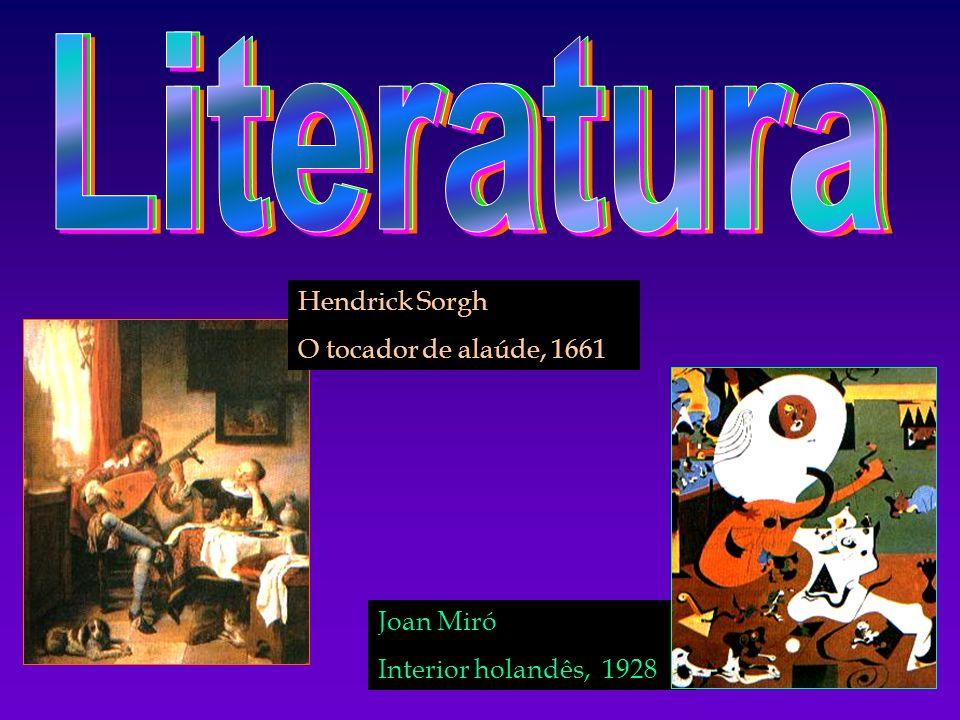 Literatura Hendrick Sorgh O tocador de alaúde, 1661 Joan Miró