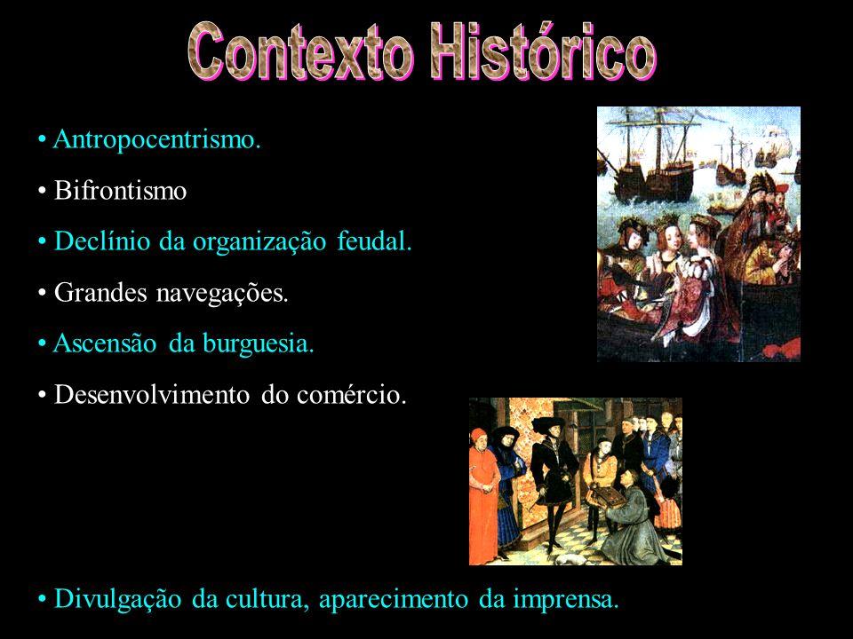 Contexto Histórico Antropocentrismo. Bifrontismo