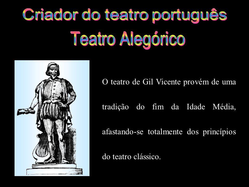Criador do teatro português