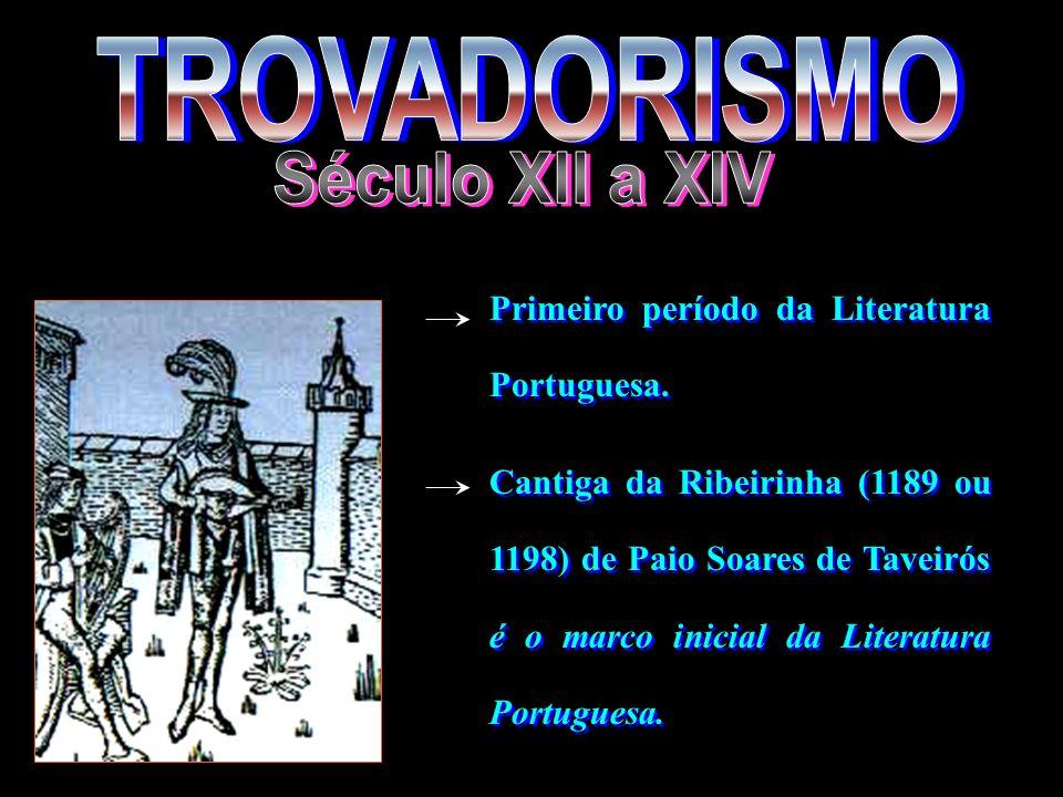 TROVADORISMO Século XII a XIV