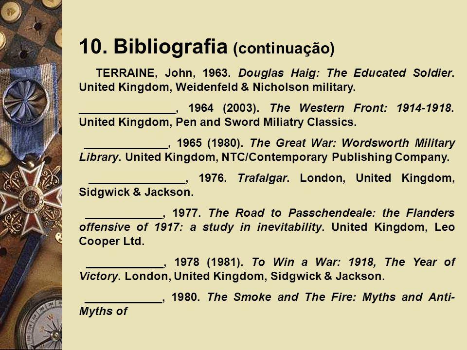 10. Bibliografia (continuação)