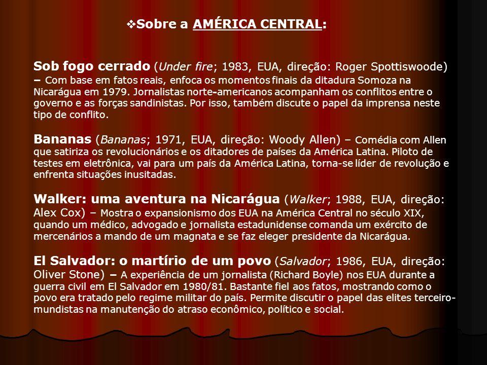 Sobre a AMÉRICA CENTRAL: