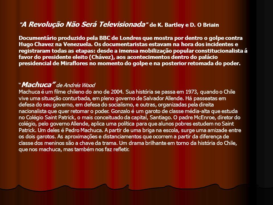 A Revolução Não Será Televisionada de K. Bartley e D
