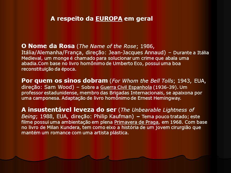 A respeito da EUROPA em geral
