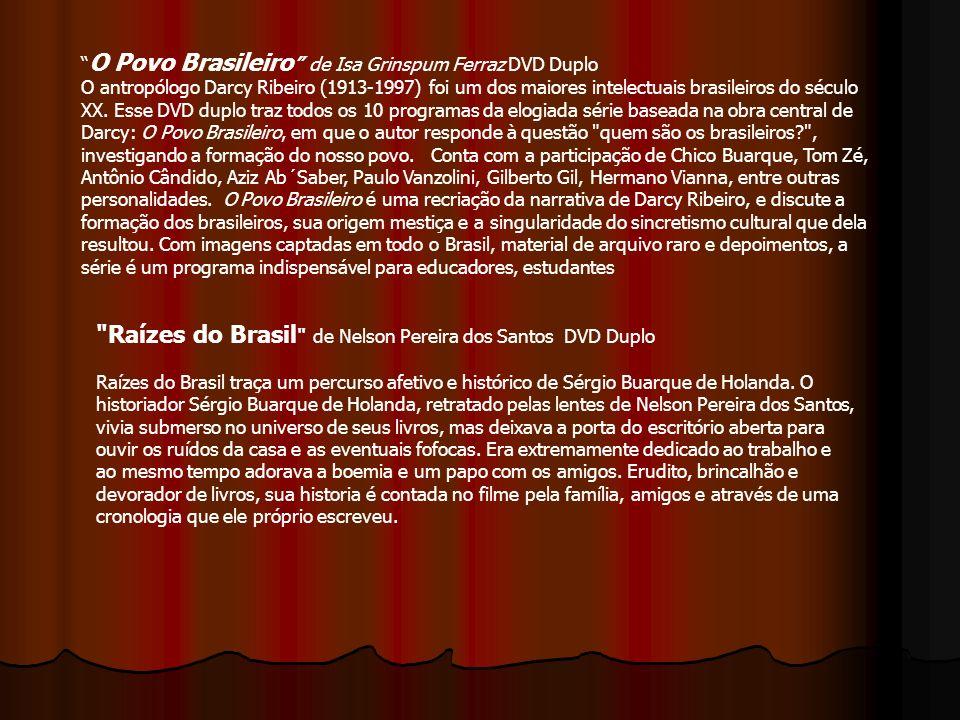 O Povo Brasileiro de Isa Grinspum Ferraz DVD Duplo
