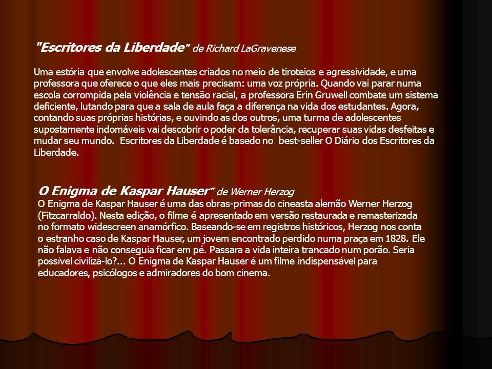 O Enigma de Kaspar Hauser de Werner Herzog