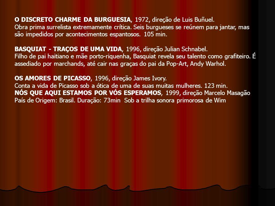 O DISCRETO CHARME DA BURGUESIA, 1972, direção de Luis Buñuel