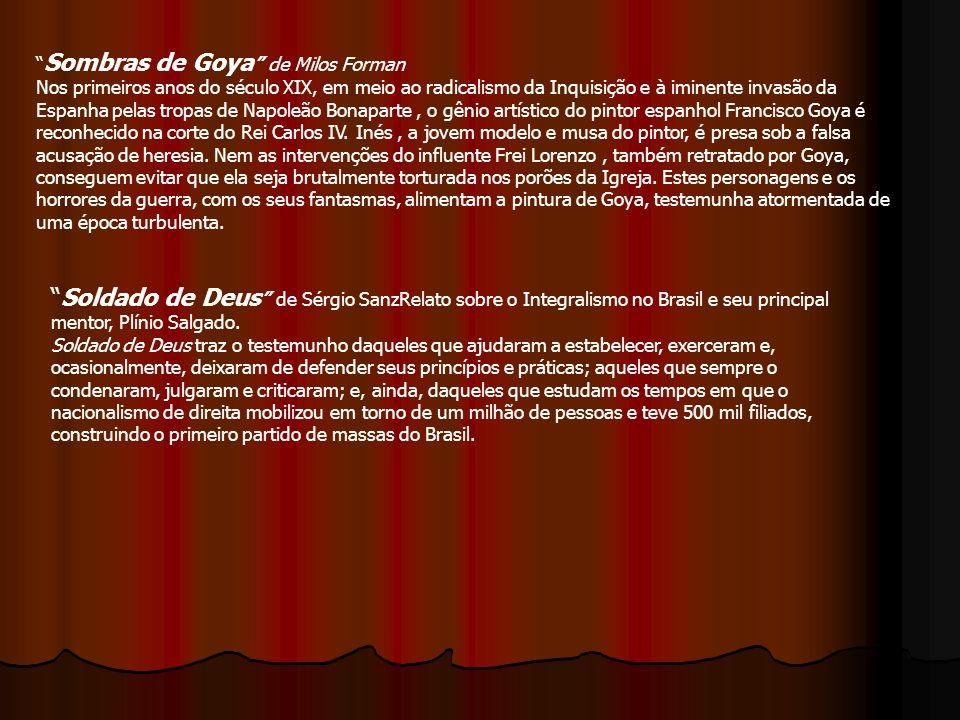 Sombras de Goya de Milos Forman
