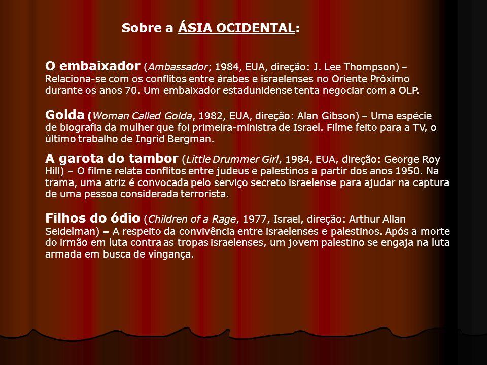 Sobre a ÁSIA OCIDENTAL: