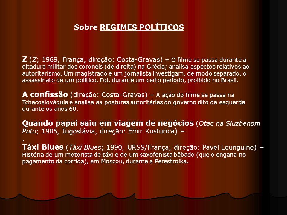 Sobre REGIMES POLÍTICOS