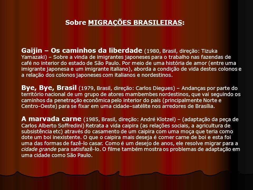 Sobre MIGRAÇÕES BRASILEIRAS: