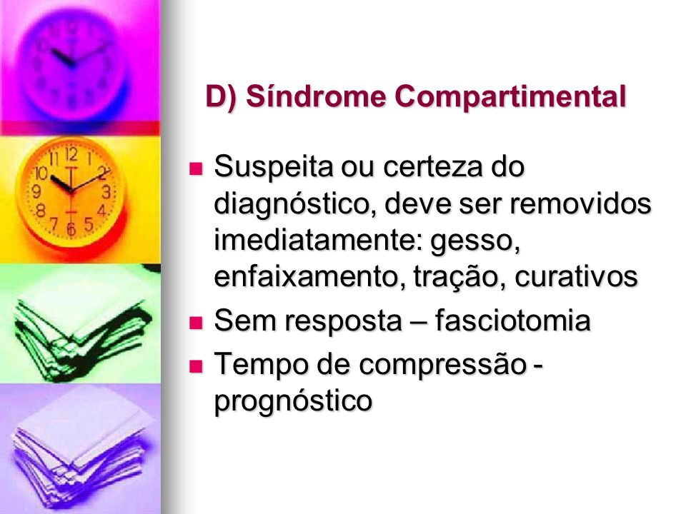 D) Síndrome Compartimental