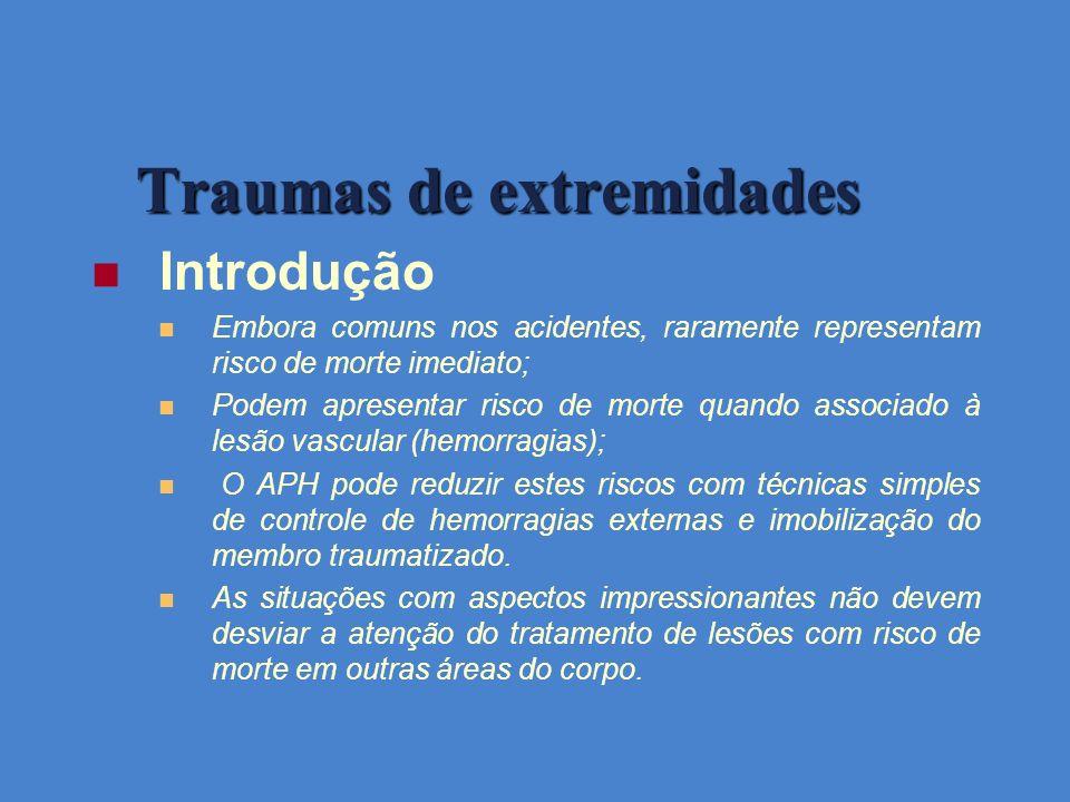 Traumas de extremidades