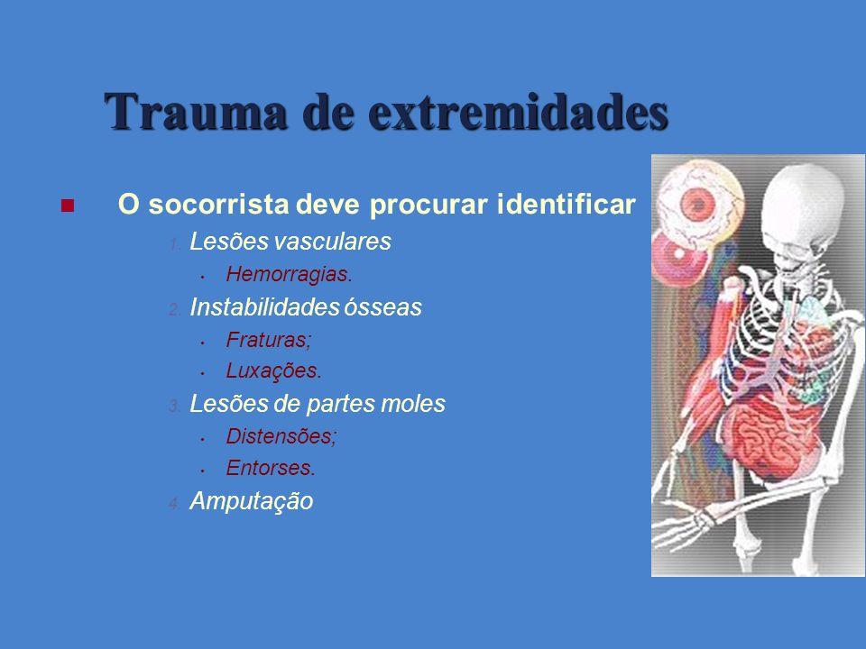 Trauma de extremidades