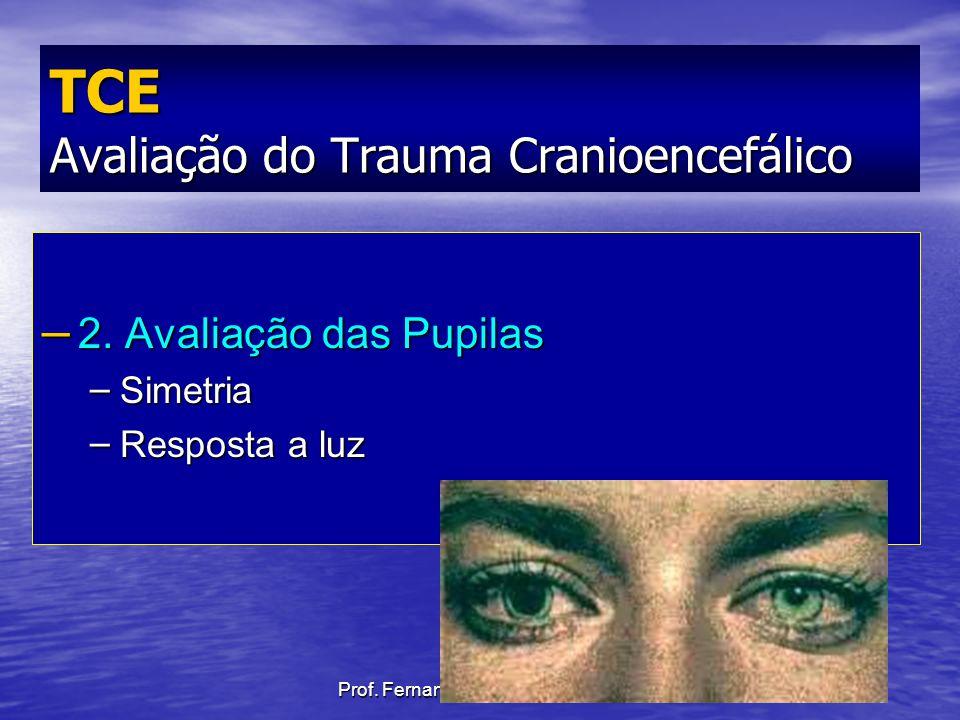 TCE Avaliação do Trauma Cranioencefálico