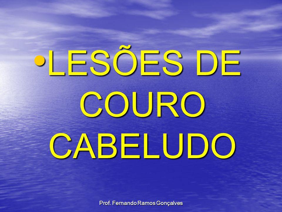 LESÕES DE COURO CABELUDO