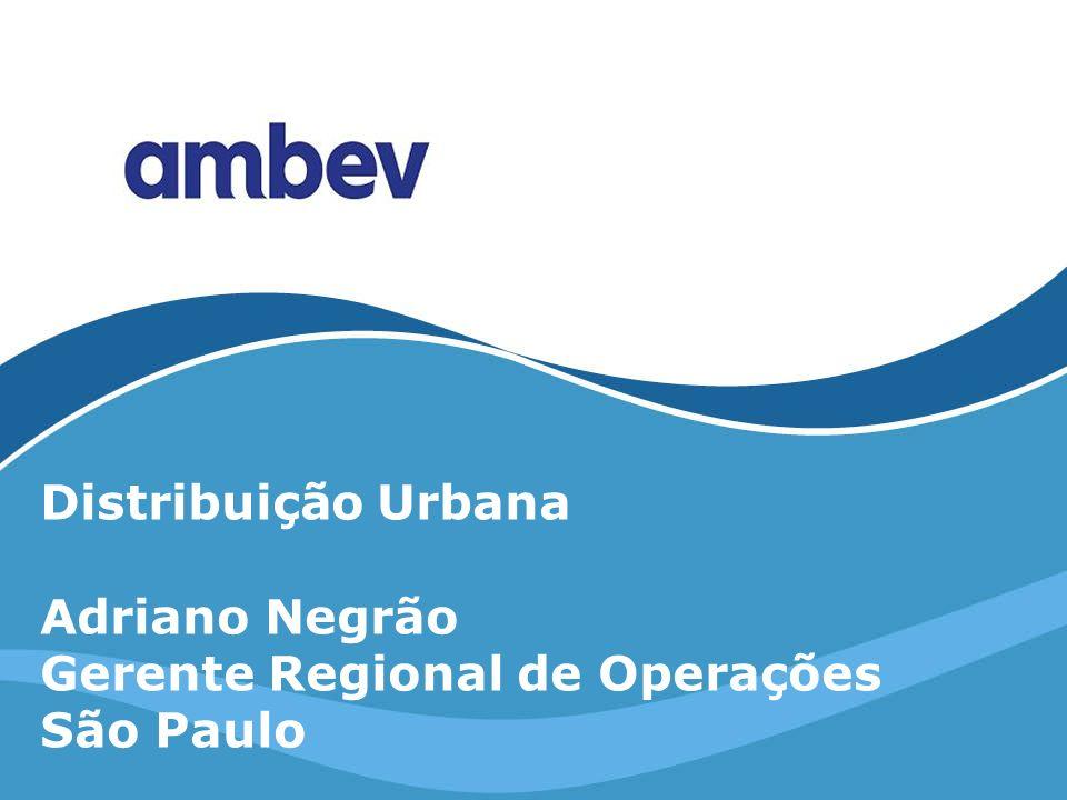 Distribuição Urbana Adriano Negrão Gerente Regional de Operações São Paulo