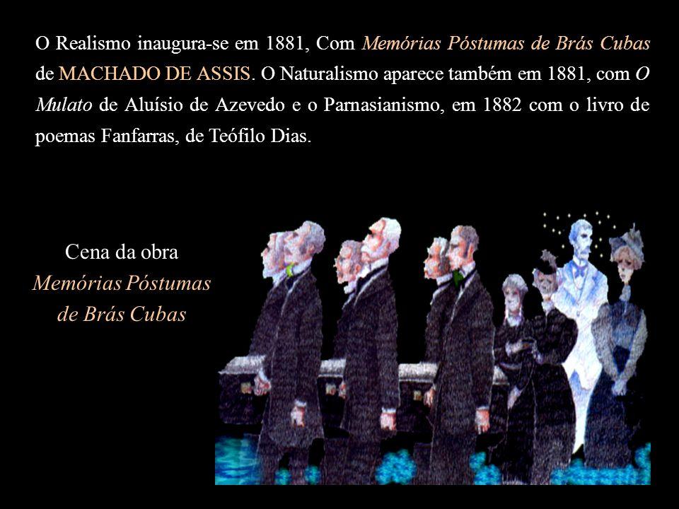 Cena da obra Memórias Póstumas de Brás Cubas