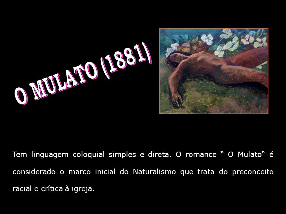 O MULATO (1881)