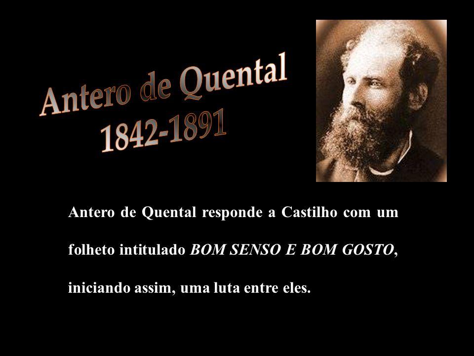 Antero de Quental 1842-1891.