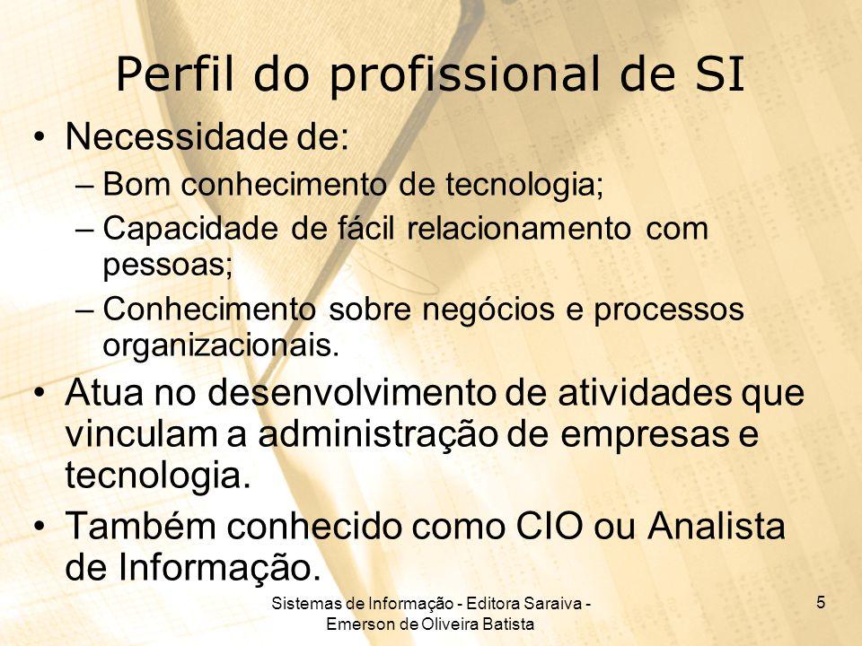 Perfil do profissional de SI