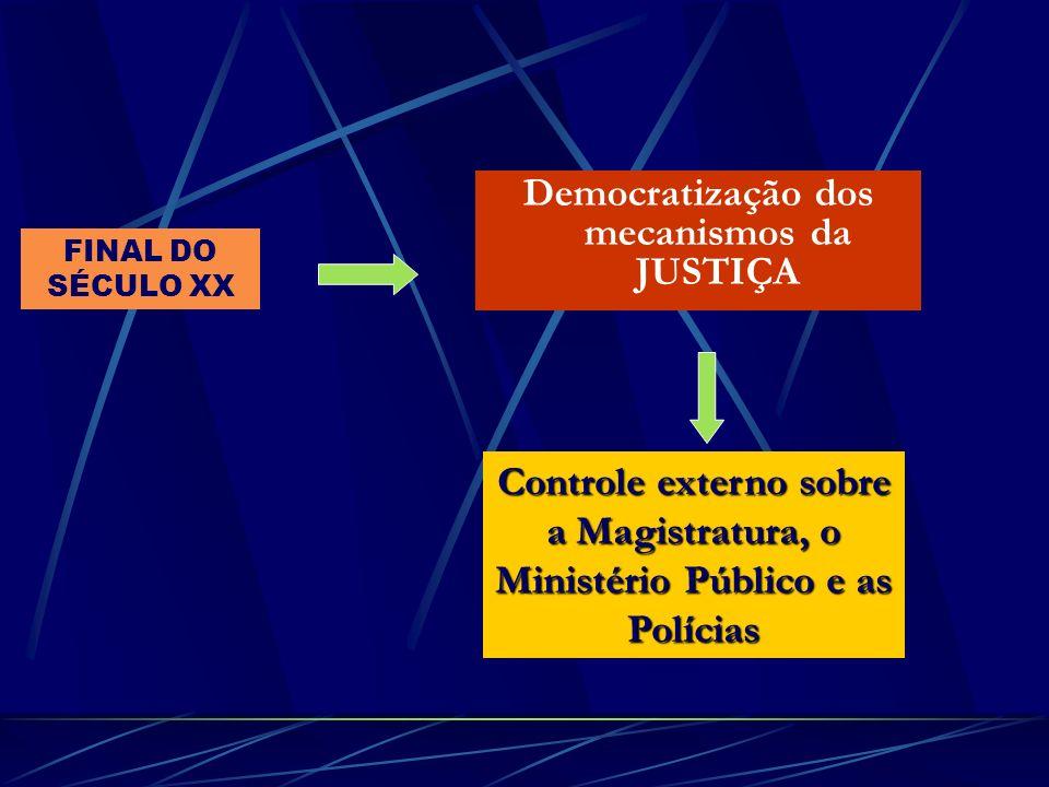 Democratização dos mecanismos da JUSTIÇA