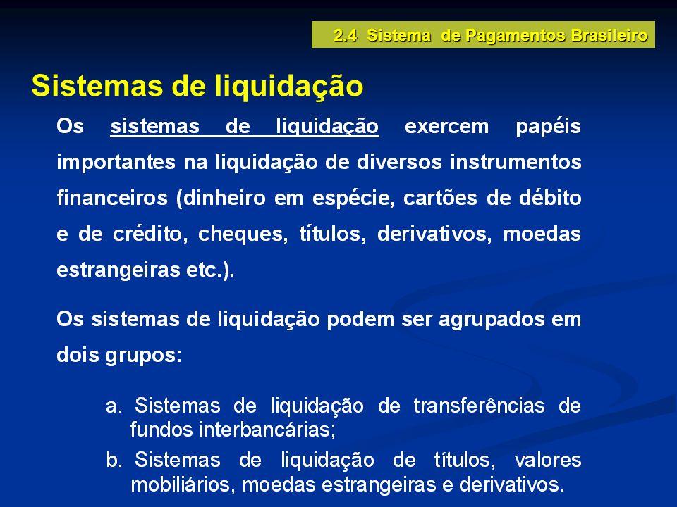 Sistemas de liquidação