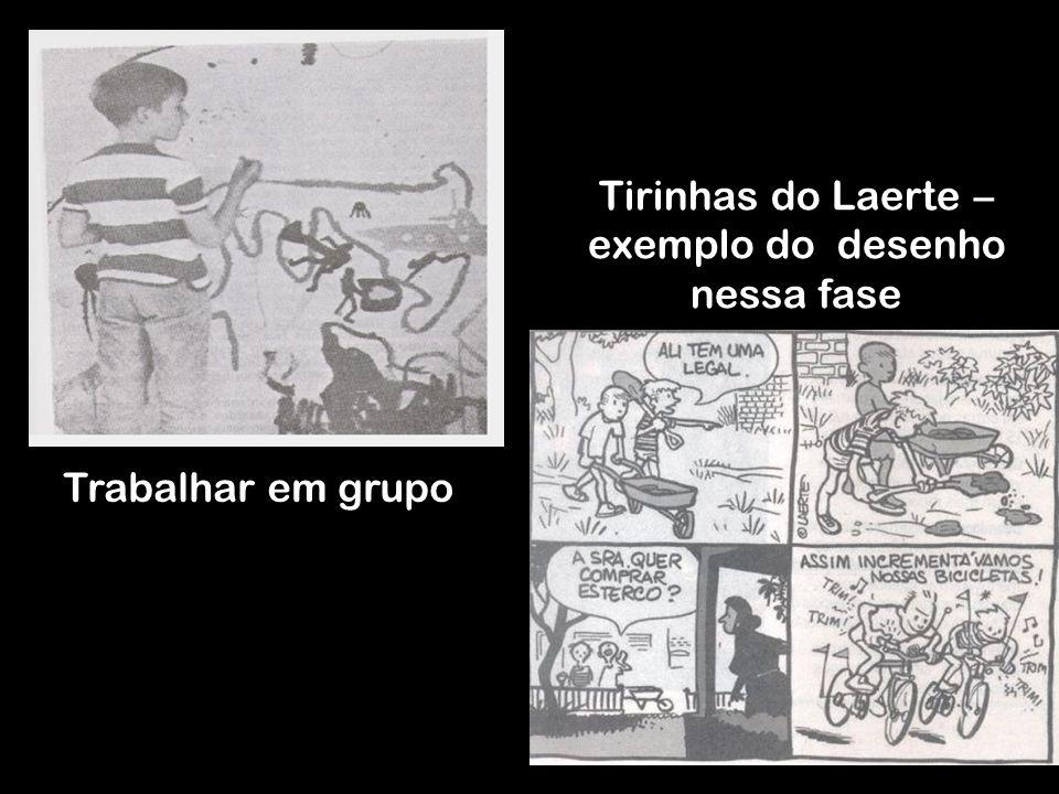 Tirinhas do Laerte – exemplo do desenho nessa fase