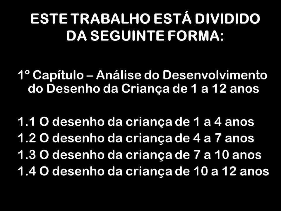 ESTE TRABALHO ESTÁ DIVIDIDO DA SEGUINTE FORMA: