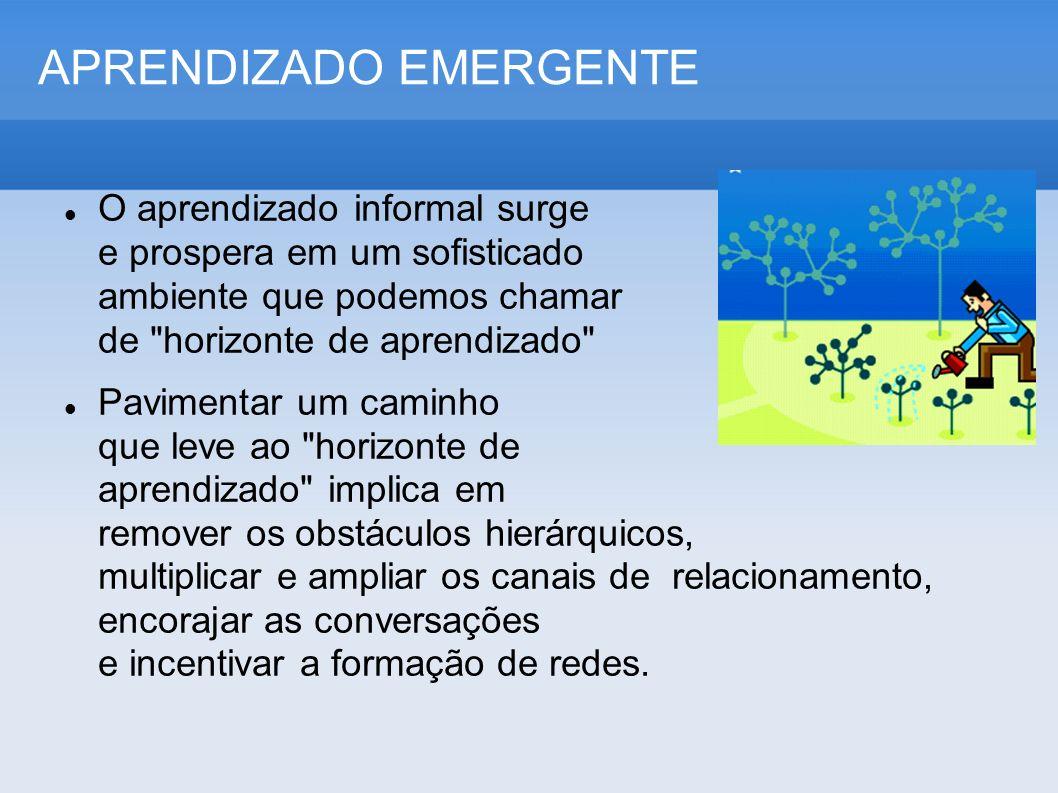 APRENDIZADO EMERGENTE