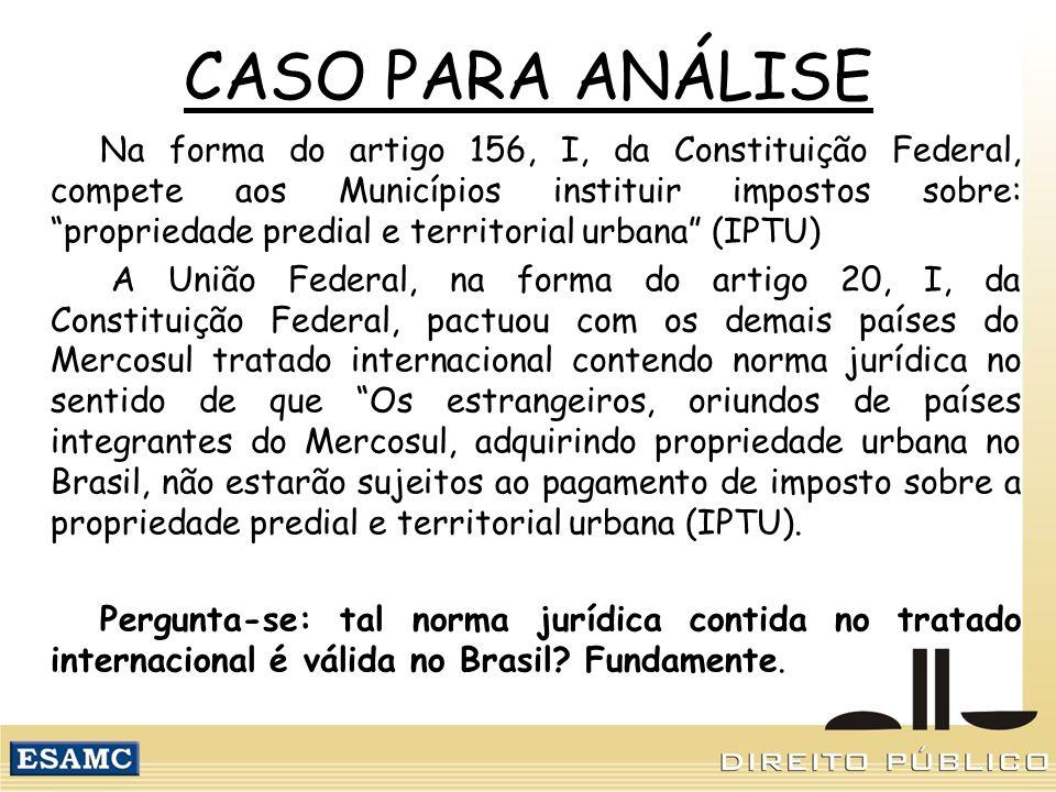 CASO PARA ANÁLISE