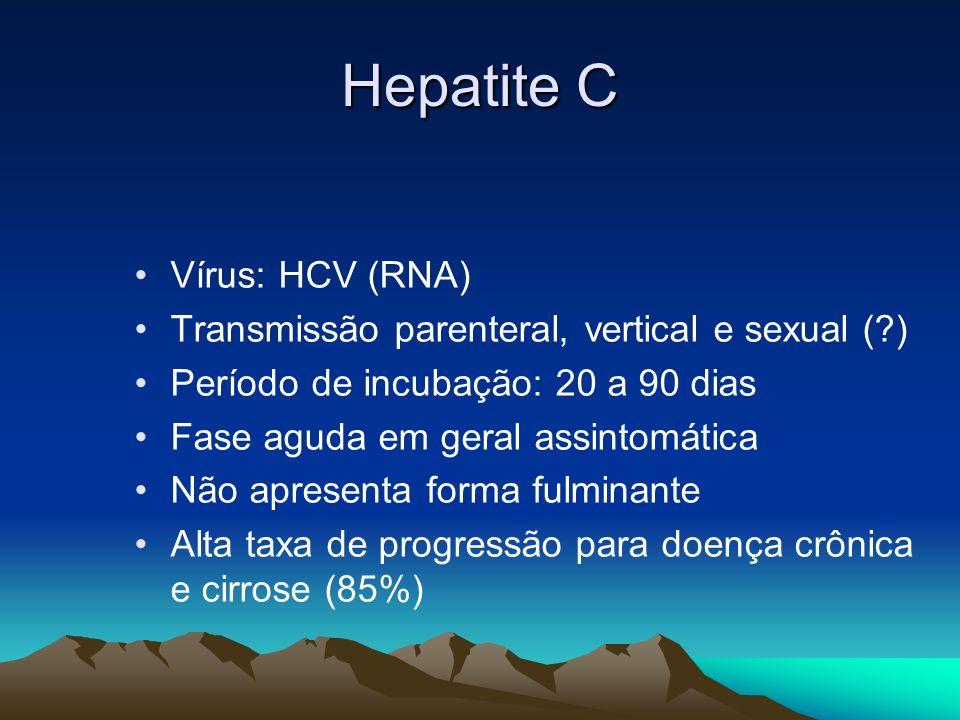 Hepatite C Vírus: HCV (RNA)
